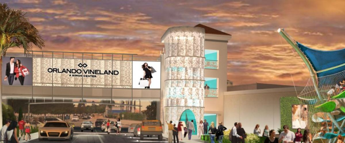Orlando Vineland Premium Outlets Unveils Plans for Dramatic Transformation