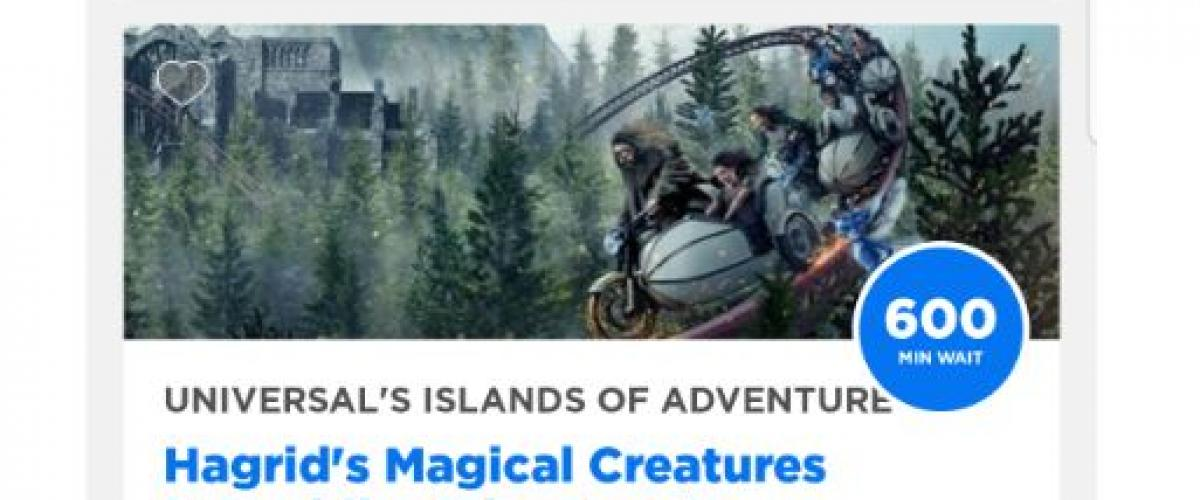 The Epic Opening Day Fail by Universal Orlando New Hagrids Magical Creatures Motorbike Adventure